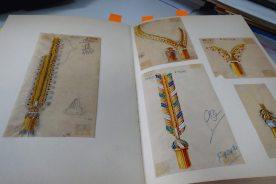 Parmi les trésors de Van Cleef & Arpels : les carnets de recherche des créations.