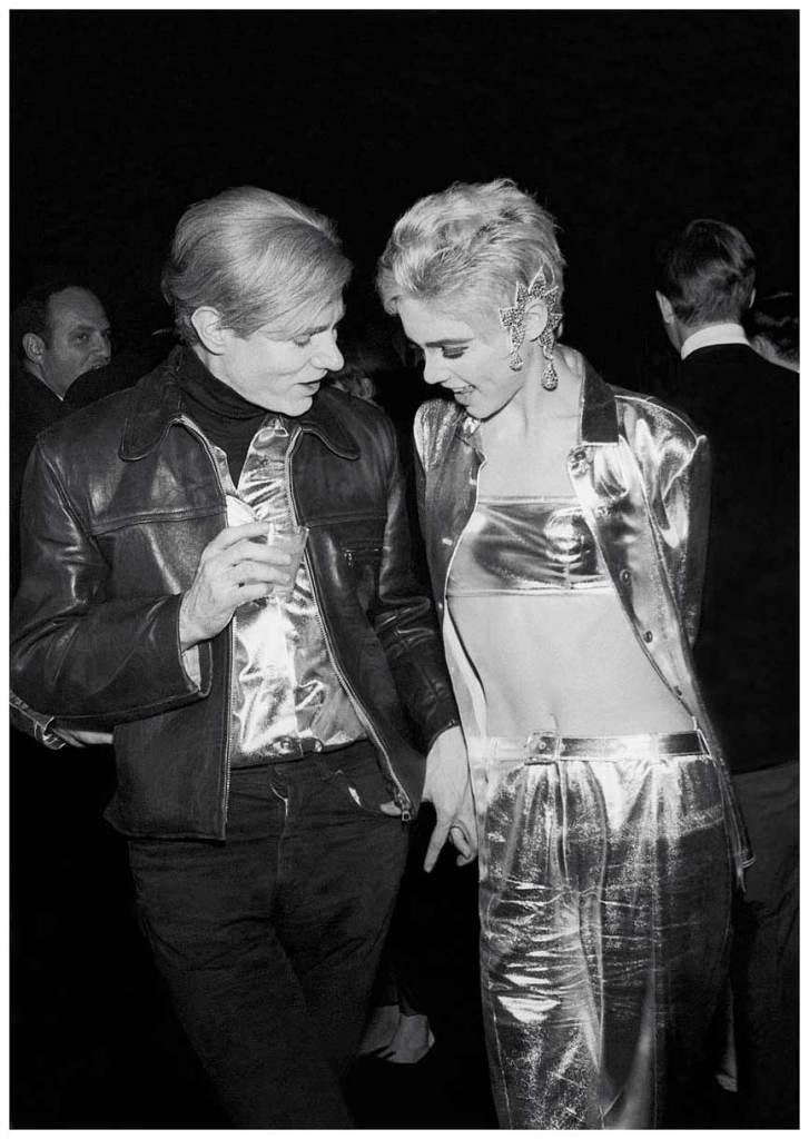 Andy Warhol et Edie Sedgwick en 1967