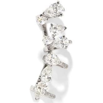 Ear cuff Serti Sur Vide en or et diamants, Repossi.