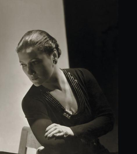 Suzanne Belperron par Horst P. Horst en 1934.© Archives Olivier Baroin