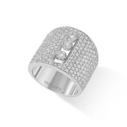 Bague Move Joaillerie en or blanc et diamants
